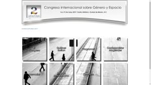 Segundo Congreso Internacional sobre Género y Espacio.
