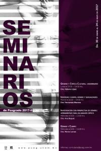 Seminarios de posgrado PUEG 2017-II