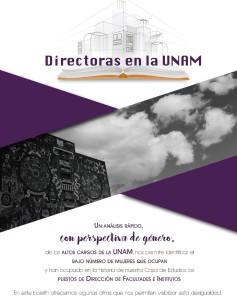 Directoras de la UNAM. Un análisis rápido con perspectiva de género.
