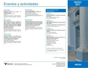 Eventos de la Casa de la Cultura Jurídica en Mérida Yucatán.
