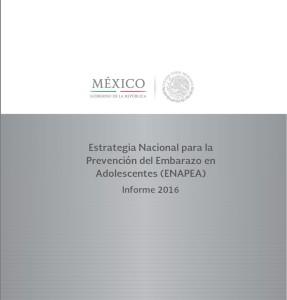 Informe: Estrategia Nacional para la Prevención del Embarazo en Adolescentes (ENAPEA) Informe 2016.