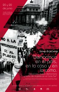 """Circulo de lecturas """"Democracia en el país, en la casa y en la cama. Dictaduras, nueva democracia y lucha de mujeres en el Cono Sur"""""""